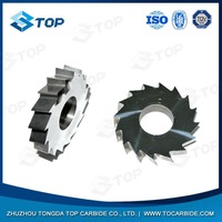 Good performance solid carbide slitting saws