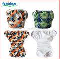 Uno famicheer tamaño del bebé tela pañales de natación, pantalones de natación
