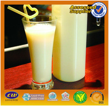 2014 new products in AUCHAN glass milk bottle