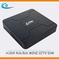Onvif linux embebido 4ch/8ch h. Seguridad 264 dvs dvr de la fcc/ce/rohs caliente de la venta
