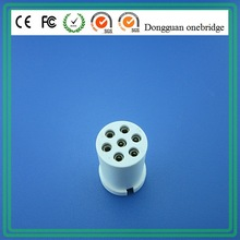 Customized auto electrical terminal 9 pin connector