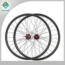 mtb carbon tubular wheel deep 24mm weight 320g with 881/882 Novatec hub carbon mountain bike wheels for XC