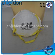 cup shape non woven custom printing human face masks
