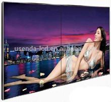 "Popular big monitor 55""3.9mm hot girls sex videos in video wall"