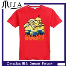 Advertising/Slogan/ message cheap T-shirts Minions design t shirts