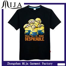 Advertising/Slogan/ message Minons design cheap t shirts
