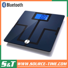 2014 S&T wireless body analises scale 180kg body android analysis body analyzer wifi