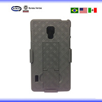 phone case for lg optimus l7 ii / p710 combo holster