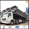 2014 new Sinotruk Howo tipper truck 8x4 duump trucks with spare parts