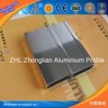 Alta qualidade de polimento de vidro da porta do chuveiro/shinning grande perfil de alumínio portas de chuveiro com porta de alumínio perfil de desenho