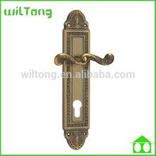 zinc alloy 85mm door plate handles