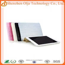 2014 hot selling smart cover leather case protect for ipad mini,new fashion luxury oem for ipad mini case stand