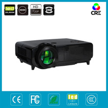 ce approved karaoke used led video projector,4000:1 high brightness 3000lumens multipurpose portable led projector