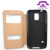 tpu cell phone case for samsung galaxy s5 for i9600 smart case sleep/wake function