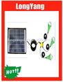 Portable 10w mini-solares kit de luz led mini kit de luz solar painel solar em casa kit