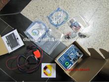Dhl el envío gratis ak500 inteligentes clave programador con adaptador hc705 eis skc calculadora& de base de datos de disco duro para el benz