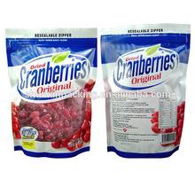 FDA/USA Standard Dried Fruit Food Packaging Bag