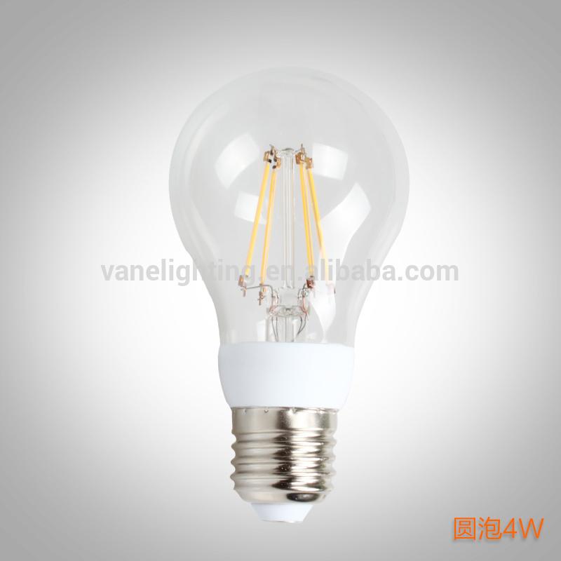2014 New Product LED Filament Bulb LED Globe filament bulbs