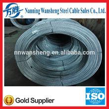 Zinc Coating Steel Strand Wire