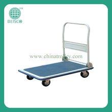 Folding utility trolley