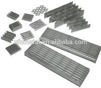 galvanized steel parking lot grate