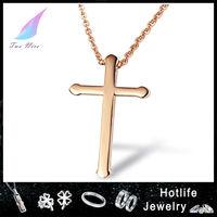 316L wholesale jewelry fashion pendant friendship gold celtic cross pendant