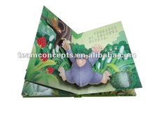 Custom printing 3D pop up Children book from china supplier