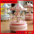 wedding favors custom song toy carousel music box