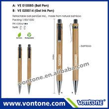 eco bamboo ball pen