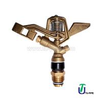 "Irrigation Full circle brass impact sprinkler with 3/4"" female threads/water sprinkler"