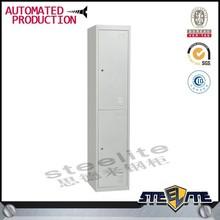 2 tier public used steel locker cabinet/employee locker/all steel locker