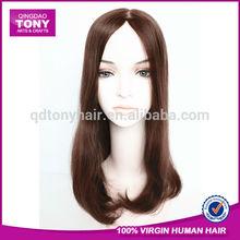 Wholesale 6A natural Brazilian human hair wigs white women
