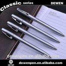 Silver Cheap Beautiful Twist Metal Ball-point Pen