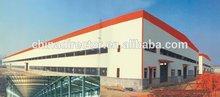 ISO certified Indutrial Steel Prefabricated lightweight hall