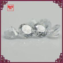 3mm cubic zirconia round gemstones
