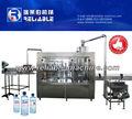 Água de enchimento de lavagem máquina tampando garrafa PET projeto