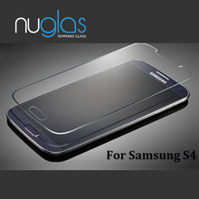 Nuglas hot sale high quality tempered glass screen protector for Samsung Galaxy S4 i9500