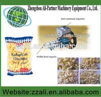 Crispy Corn Flour Puff Snack Extruder Equipment