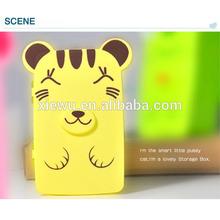 New Style Lovely X&W cartoon Shaped Plastic Storage Box/Money Box