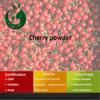100% Fruit Juice Cherry Fruit Powder Sour Cherry Juice