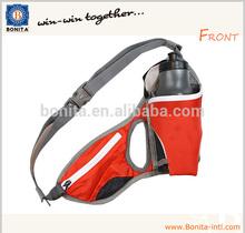 2015 Running belt Close fit waist bag Hydration bottle bag