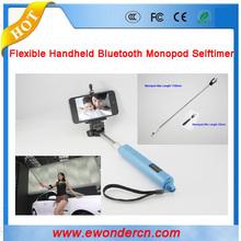 2015 Newest Wireless Selfie Stick,Handheld Monopod Bluetooth with control