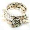 design multilayer alloy bracelet bangle