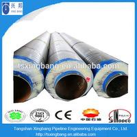 high density polyurethane foam aluminum foil insulation hot steam pipe