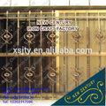 ornamentais de ferro forjado grade de janela de design