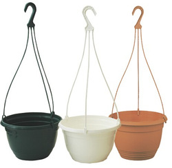Balcony plastic hanging basket pots for planet