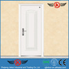 JK-F9027 fire rated door aluminum/pure white wood fireproof steel security door