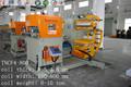 3 en 1 de acero bobina de devanadora, enderezar, alimentador de la máquina