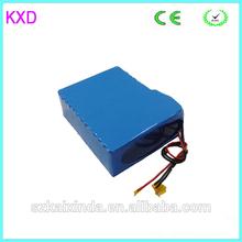 lithium electric car batteries 48v 30ah 18650 13S15P high quality