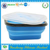 2014 best selling oven safe silicone lunch box on wholesale